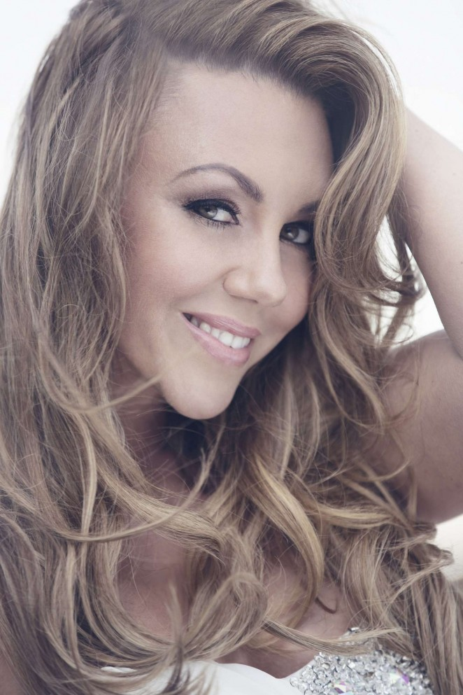 Michelle Heaton Gold Class Hair Extension Photoshoot 2014 01