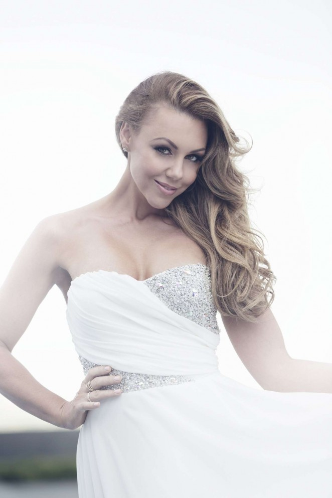 Michelle Heaton - Gold Class Hair Extension Photoshoot 2014