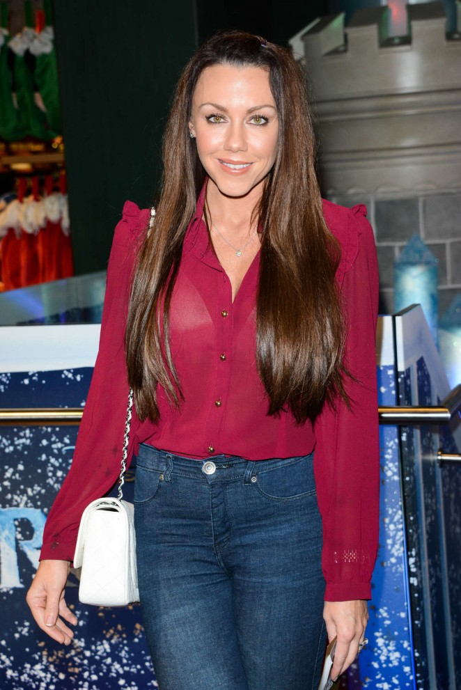 Michelle Heaton - Share The Magic Christmas Charity Launch in London