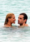 Michelle Hunziker - Black Bikini Candids in Miami-01