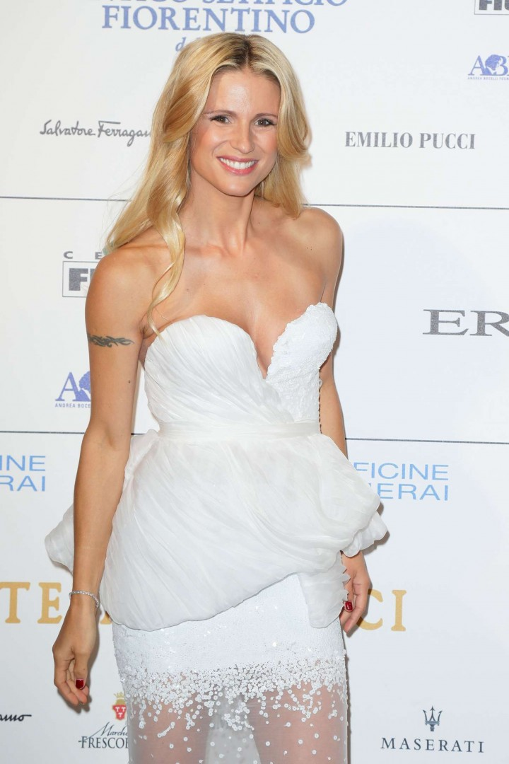 Michelle Hunziker - Celebrity Fight Night in Florence