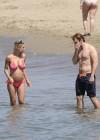 Michelle Hunziker in bikini -09
