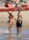 Michelle Hunziker in bikini -24