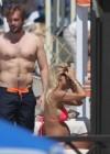 Michelle Hunziker in bikini -29