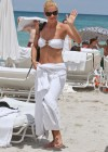 Michelle Hunziker Hot bikini candids in Miami-02