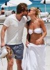 Michelle Hunziker Hot bikini candids in Miami-03
