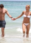 Michelle Hunziker Hot bikini candids in Miami-06