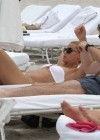 Michelle Hunziker Hot bikini candids in Miami-07