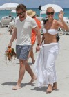 Michelle Hunziker Hot bikini candids in Miami-09