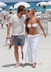 Michelle Hunziker Hot bikini candids in Miami-16
