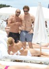 Michelle Hunziker Hot bikini candids in Miami-25