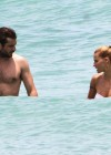 Michelle Hunziker Hot bikini candids in Miami-33