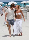 Michelle Hunziker Hot bikini candids in Miami-39
