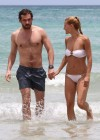 Michelle Hunziker Hot bikini candids in Miami-40