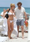 Michelle Hunziker Hot bikini candids in Miami-43