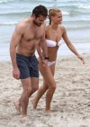 Michelle Hunziker Hot bikini candids in Miami-44
