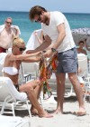 Michelle Hunziker Hot bikini candids in Miami-45