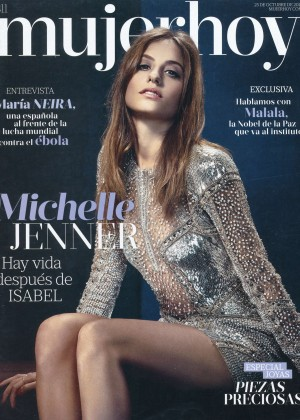 Michelle Jenner - Mujerhoy Magazine (October 2014)