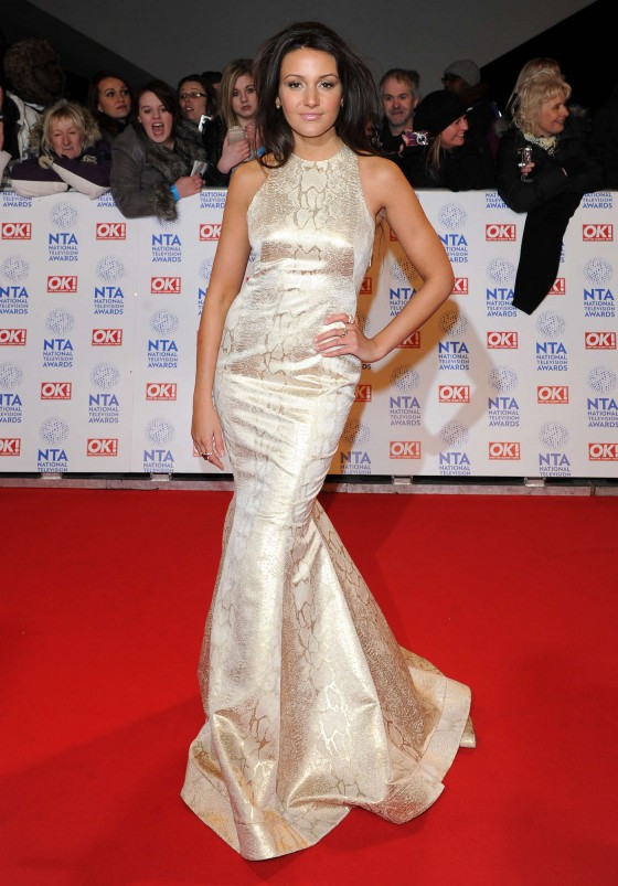 Michelle Keegan - National Television Awards 2013, London
