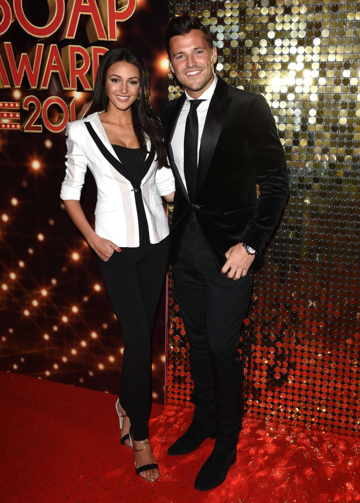 Michelle Keegan: British Soap Awards 2014 BSA -12