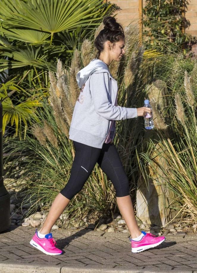 2b71209990bd1 Michelle Keegan in Tight Leggings -01 – GotCeleb