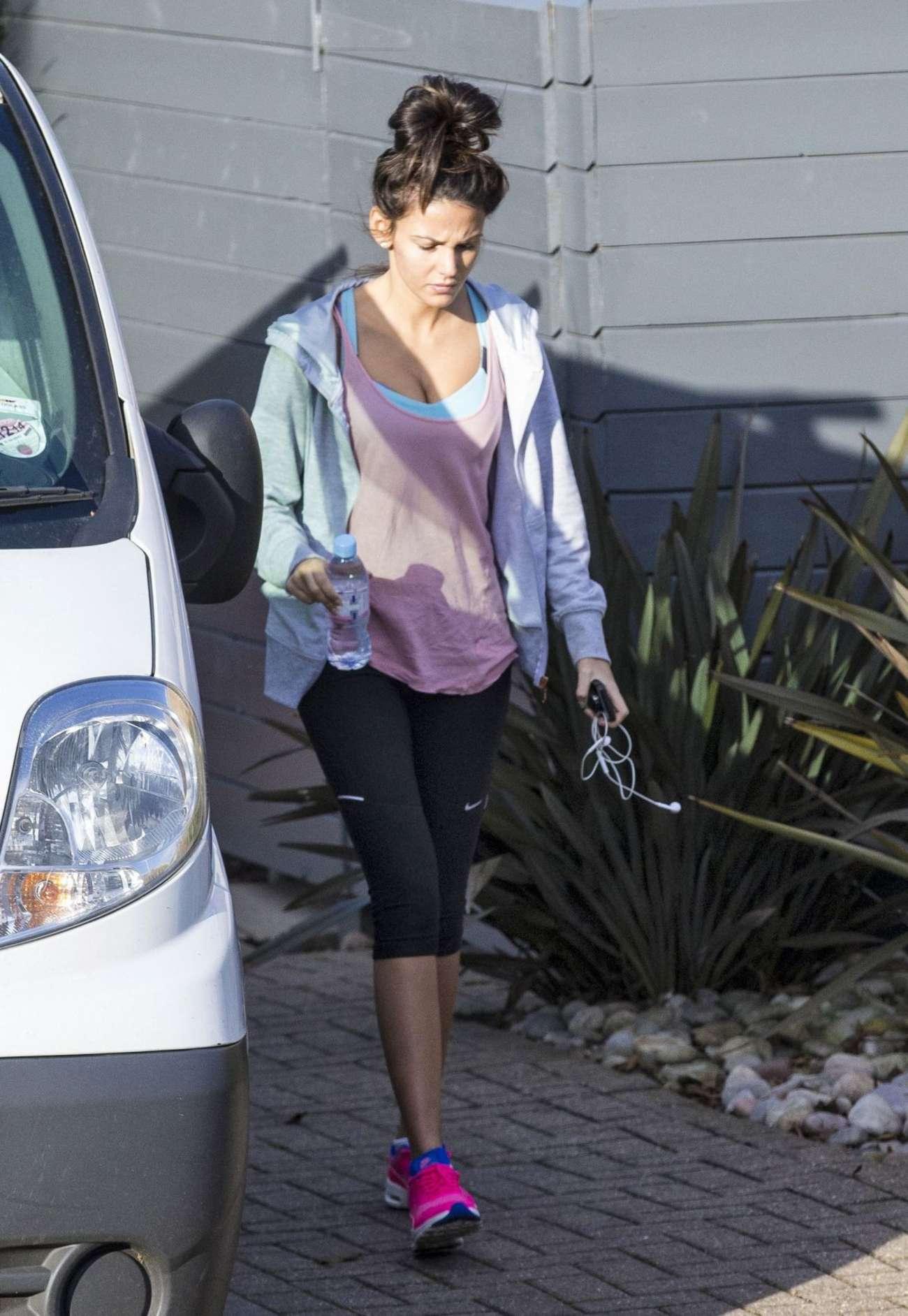 73f95f124329f Michelle Keegan in Tight Leggings -05 | GotCeleb