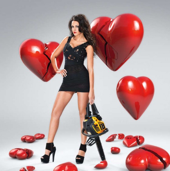 "Michelle Keegan in Neale Haynes ""Heartbreaker"" Photoshoot 2012"