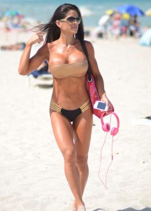 Michelle Lewin Hot Bikini Photos -01