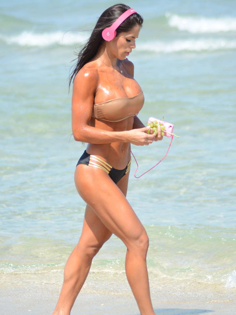 Michelle Lewin Hot Bikini Photos -02 | GotCeleb