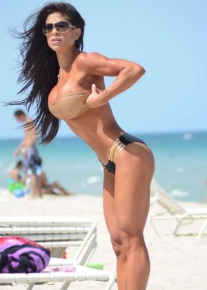 Michelle Lewin Hot Bikini Photos -06