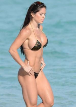 Michelle Lewin Bikini Photos: 2014 in Miami -03