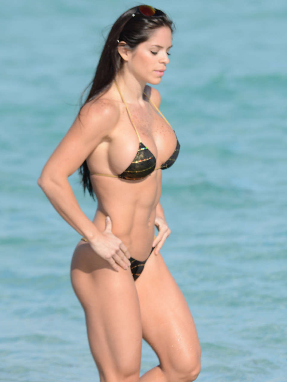 Michelle-Lewin-Bikini-Photos:-2014-in-Mi
