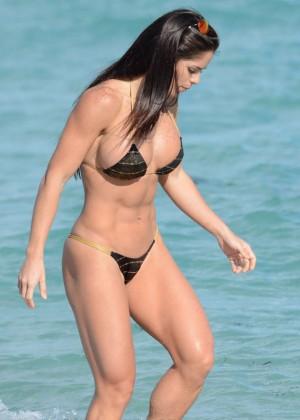 Michelle Lewin Bikini Photos: 2014 in Miami -08