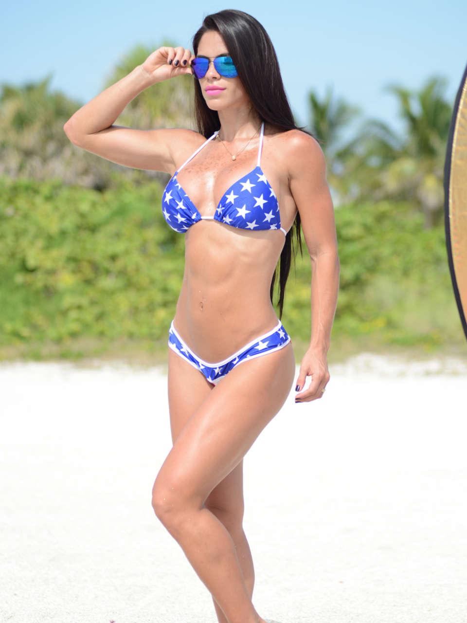 Michelle Lewin 2014 : Michelle Lewin Bikini Photos: Miami-02