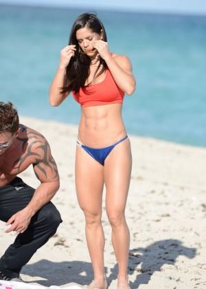 Michelle Lewin Hot Bikini Photos: 2014 in Miami -02