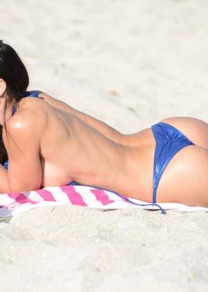Michelle Lewin Hot Bikini Photos: 2014 in Miami -09