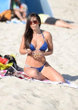 Michelle Lewin Hot Bikini Photos: 2014 in Miami -12