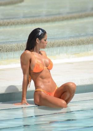 Michelle Lewin in Bikini 2014 -01