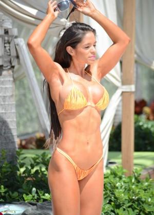 Michelle Lewin in Bikini 2014 -02