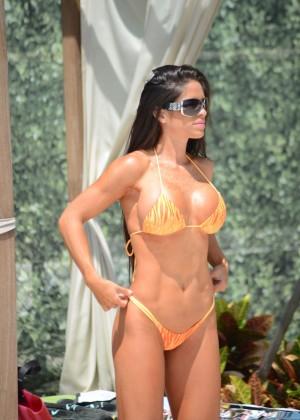 Michelle Lewin in Bikini 2014 -05