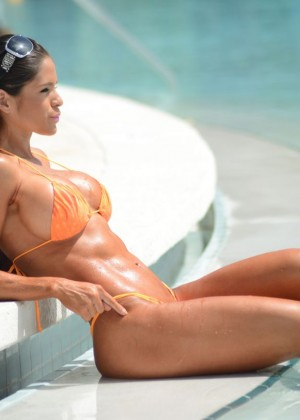 Michelle Lewin in Bikini 2014 -07