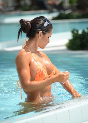 Michelle Lewin in Bikini 2014 -08