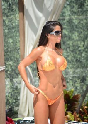 Michelle Lewin in Bikini 2014 -12