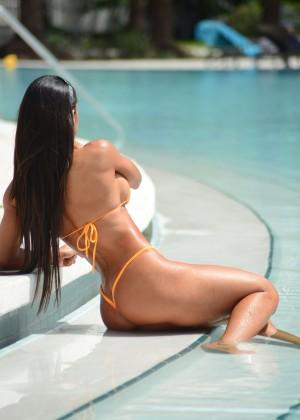 Michelle Lewin in Bikini 2014 -14