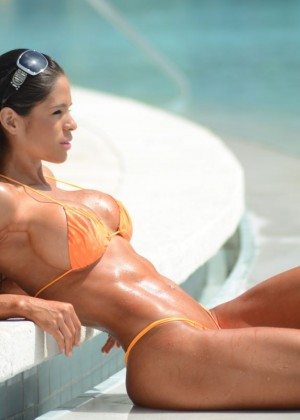 Michelle Lewin in Bikini 2014 -15