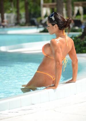 Michelle Lewin in Bikini 2014 -19