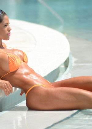 Michelle Lewin in Bikini 2014 -21
