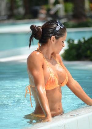 Michelle Lewin in Bikini 2014 -23