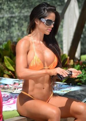 Michelle Lewin in Bikini 2014 -24