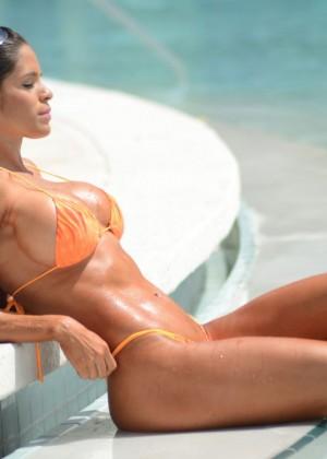 Michelle Lewin in Bikini 2014 -25